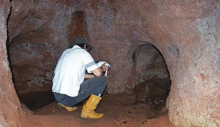 Ciência Professores da UFGRS confirmam a existência de paleotocas em Sertão Santana Paleotocas foram feitas por - Blog do Juares