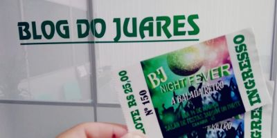 Blog do Juares (BJ) sorteia ingressos para a BJ Night Fever